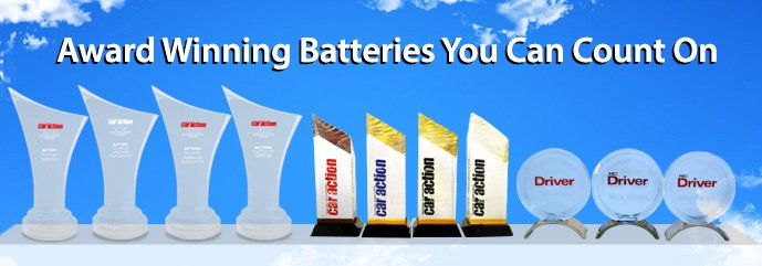 Award Winnging Batteries You Can Count On