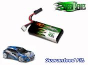 Green Series Life 1050 2-cell 6.6v Rally VXL Battery Pack