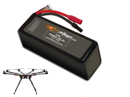 LiPo 10900 6S 22.2v Battery Pack for DJI S1000