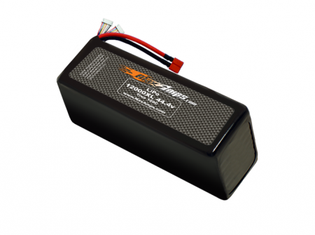 LiPo 12000XL 12S 44.4v Battery Pack
