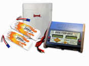 Dual LiPo 12000XL 11.1V ARTR Kit for Limitless Roller
