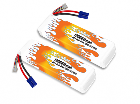 LiPo 12000XL 3S 11.1v Infraction BLX Pair