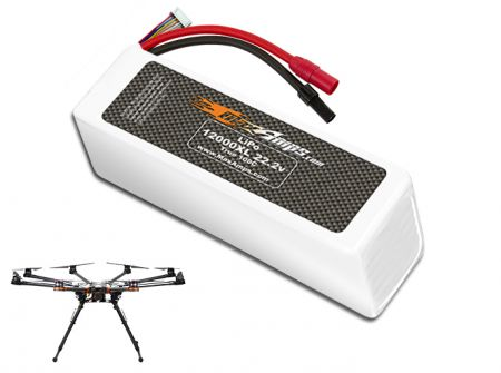LiPo 12000XL 6S 22.2v Battery Pack for DJI S1000