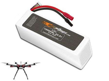 LiPo 12000XL 6S 22.2v Battery Pack for DJI S900