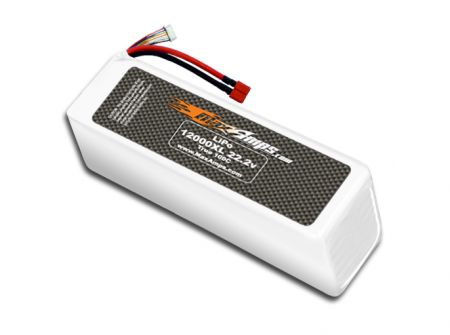 LiPo 12000XL 6S 22.2v Battery Pack