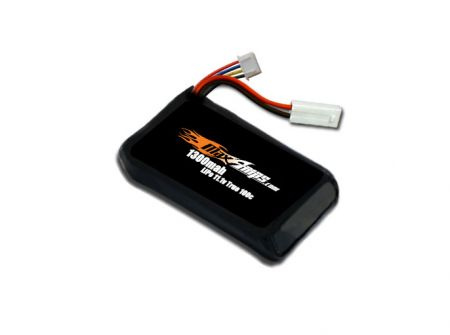 LiPo 1300 3-cell 11.1v AR Drone / Drone 2.0 Battery Pack
