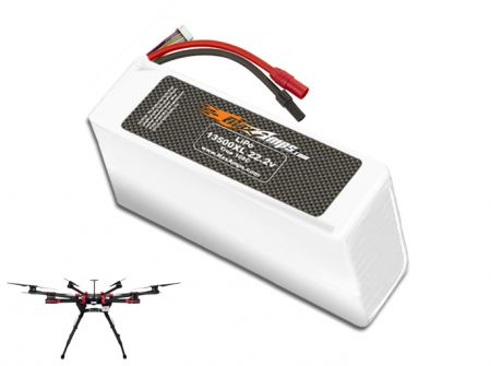 LiPo 13500XL 6S 22.2v Battery Pack for DJI S900