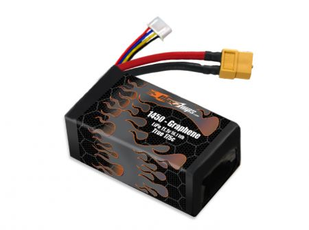 Graphene LiPo 1450 3S 11.1v Battery Pack