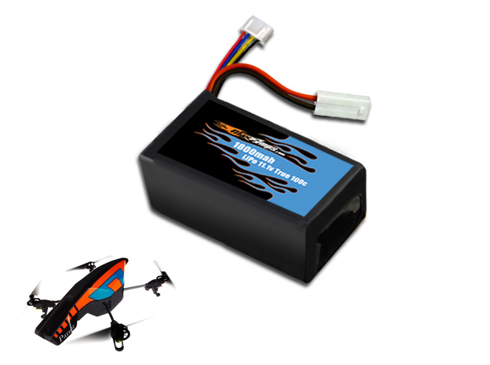 maxamps lipo 1800 3s ar drone drone 2 0 battery. Black Bedroom Furniture Sets. Home Design Ideas