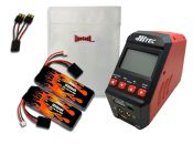 MaxAmps LiPo 1850 7.4V Pair RTR Kit for Rally VXL®