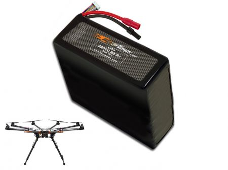 LiPo 22000 6S 22.2v Battery Pack for DJI S1000