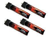LiPo 225mah 1S 3.7v Lipo Battery 4-Pack for Blade Inductrix Tiny Whoop™