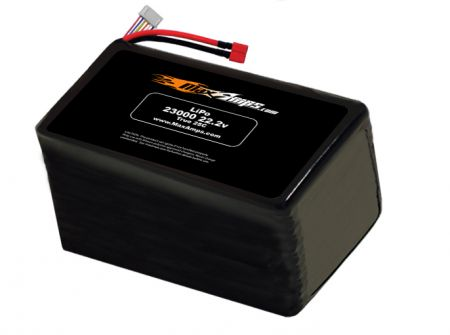 LiPo 23,000 6S 22.2v Battery Pack - Allow 2 weeks