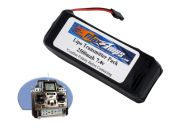 LiPo 2500 2S 7.4v Transmitter Brick Battery Pack