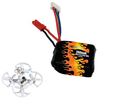 LiPo 260 3S 11.1v Battery for Babyhawk