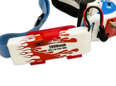 MaxAmps LiPo 2800 2S 7.4v Battery Upgrade For Fatshark/Aomway Goggles #5