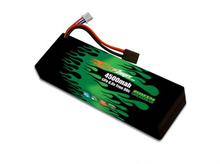 Hard Case Green Series Life 4500SS 2S 6.6v Battery Pack - Special Order only
