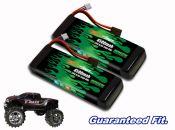 Green Series Life 4500 2-cell 6.6v E-Maxx Pair - Allow 2 weeks