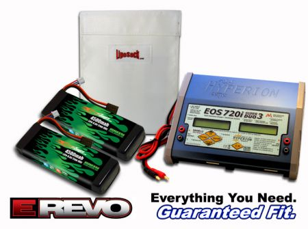 Dual Life 4500 6.6v E-Revo ARTR Kit - Allow 2 weeks