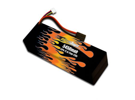 Hard Case LiPo 5450 3S 11.1v Battery Pack