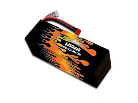 Hard Case LiPo 5450 5S 18.5v Battery Pack