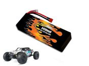 Hard Case LiPo 5450 2S 7.4v Yeti Battery Pack