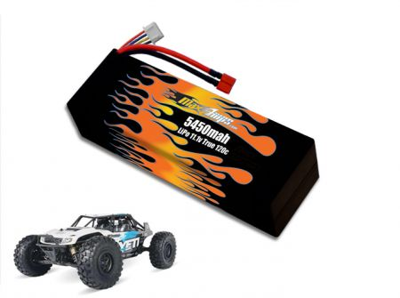 Hard Case LiPo 5450 3S 11.1v Yeti Battery Pack