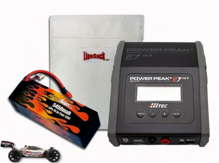 Hard Case LiPo 5450 18.5v Vorza RTR Kit