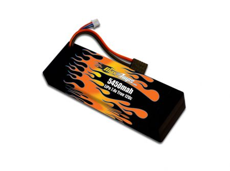 Hard Case LiPo 5450 2-cell 7.4v Battery Pack