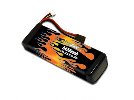 3S LiPo 5450 3-cell 11.1v Battery Pack