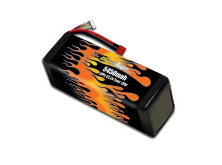 LiPo 5450 6-cell 22.2v Battery Pack
