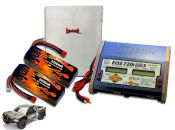 Dual LiPo 5450 11.1v Super 5SC Flux ARTR Kit