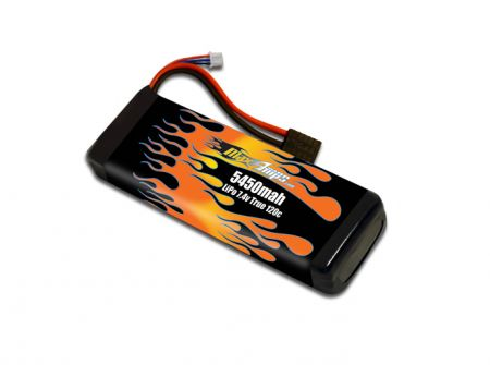 RC LiPo 5450 2S 7.4v RC Battery Pack