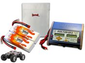 Dual Hard Case LiPo 6000XL 11.1V Savage Flux ARTR Kit