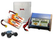 Dual LiPo 6000XL 11.1V ARTR Kit for Nero BLX