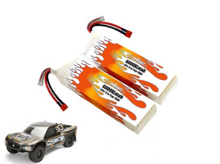 LiPo 6000XL 3S 11.1v Super 5SC Flux Pair