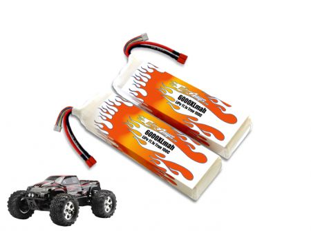 LiPo 6000XL 3S 11.1v Savage Flux Pair