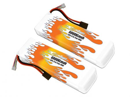 MaxAmps LiPo 6000XL 3S 11.1v Pair for Unlimited Desert Racer®