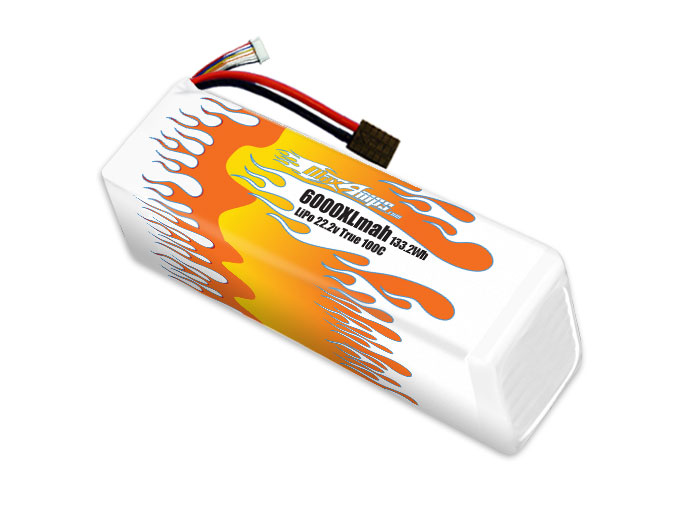MaxAmps LiPo 6000XL 6S 22 2v Pack for Unlimited Desert Racer®
