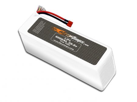 LiPo 6000XL 8S 29.6v Battery Pack