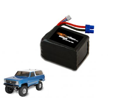 LiPo 6000 2S 7.4v Ascender Battery Pack