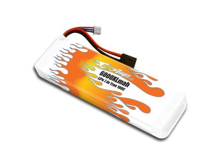 MaxAmps LiPo 6000XL 2S 7.4v Battery Pack