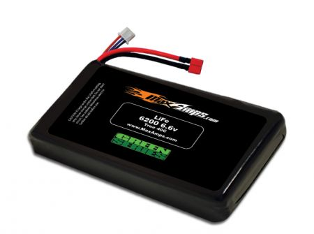 Green Series Life 6200 2S 6.6v Battery Pack - Special Order only
