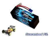 Hard Case Race Edition LiPo 6500 4-cell 14.8v Dual Core Battery Pack for 8ight-E 3.0