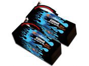 Hard Case Race Edition LiPo 6500 4S 14.8v HPI Baja Pair - Allow 3 weeks
