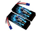 Hard Case Race Edition LiPo 6500 2S 7.4v Limitless Pair