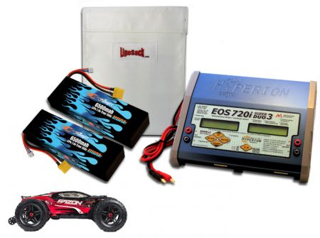 Dual Hard Case Race Edition LiPo 6500 7.4v ARTR Kit for Fazon BLX