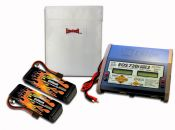 MaxAmps Dual LiPo 6500 11.1v ARTR Kit for M41®