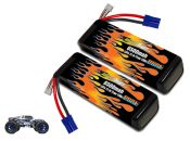 LiPo 6500 3S 11.1v Pair for Losi 3XL-E