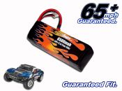 LiPo 6500 3-cell 11.1v Slash Battery Pack